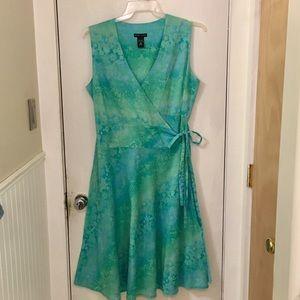 Lightweight Wrap Style Dress